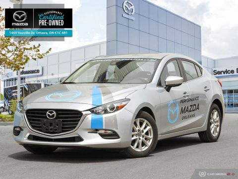 Certified Pre-Owned 2018 Mazda3 GS